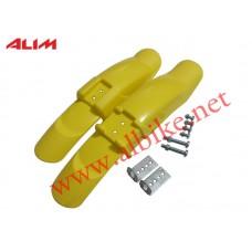 Çamurluk Plastik Sarı Bmx