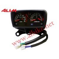 Kilometre Saati Cg 125 Benzin Göstergeli ( 160 Lık ) Kırmızı Işıklı