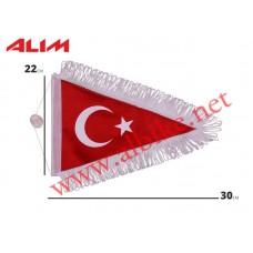 Bayrak TR Üçgen Askılı