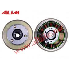 Mondial 250 Mct Alternatör Komple (Rotor+Statör)